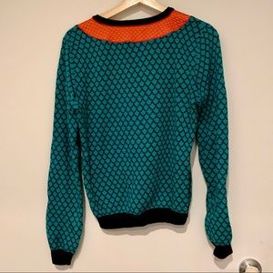 Opening Ceremony Sweaters - Opening Ceremony Snake Print Sweater